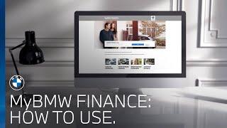 How do I use MyBMW Finance?   BMW UK