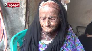 بالفيديو أكبر مسنة بمقابر السيدة تأكل البيض فى العيد وتتمنى شقة لحماية أبنائها