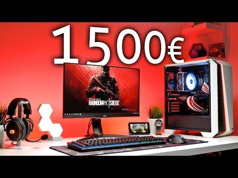 1500 Euro GAMING PC SETUP | Ein KOMPLETTES Setup MIT Gaming PC!!! [2019/2020]