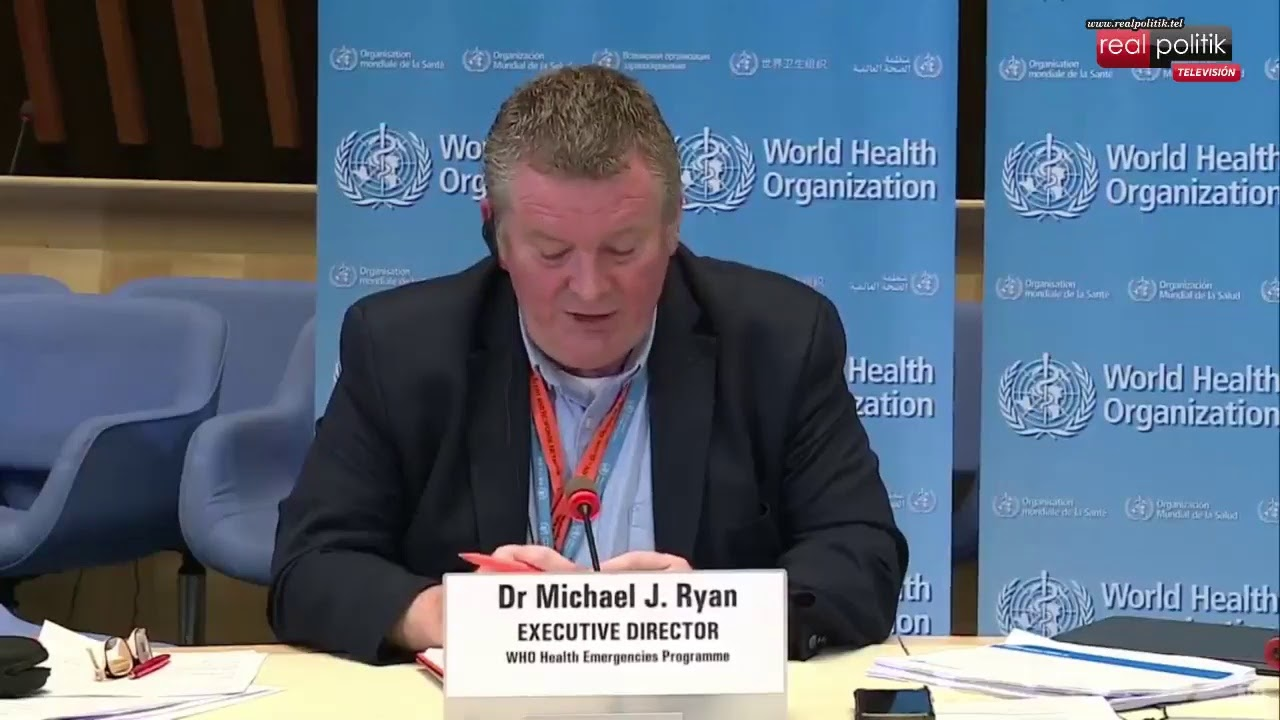 La Organización Mundial de la Salud brinda una conferencia de prensa por coronavirus