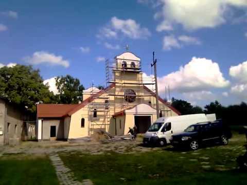 Dzwony zamontowane przez firmę Prais w Sanktuarium Matki Bożej Fatimskiej w Stagniewie - zdjęcie