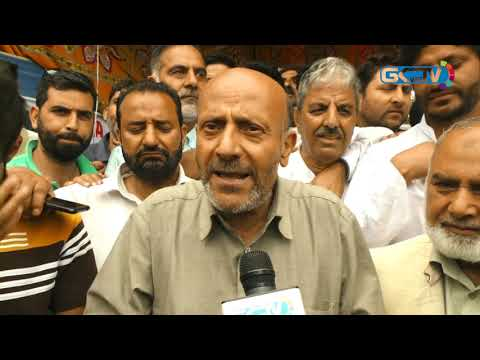 Rasheed walks barefoot to secretariat in solidarity with Karnah, Gurez residents