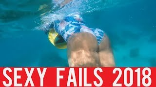 Sexy Girls Fails! || New Funny Compilation! || Year 2018!