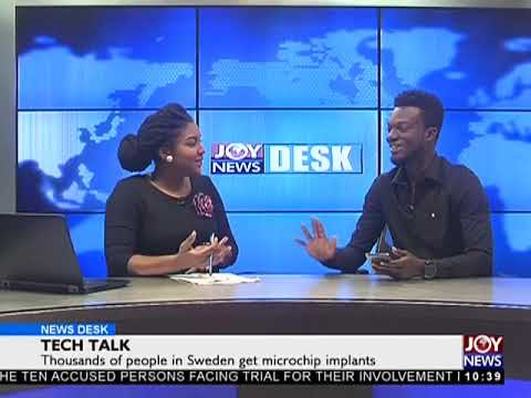 Tech Talk - News Desk on JoyNews (18-5-18)