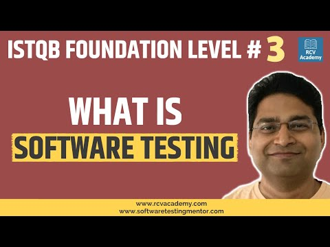 ISTQB Foundation Level #3 - What is Software Testing - YouTube