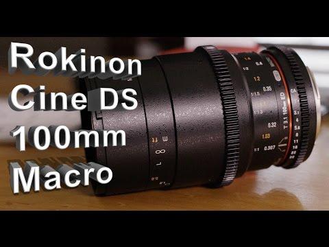 Rokinon  Cine DS 100mm Macro Lens Review  C300 Mk2 4k