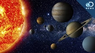 Solar System - Size