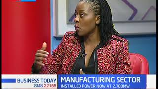 Manufacturing Sector: It contributes 15% to GDP,  cost of electricity still a barrier