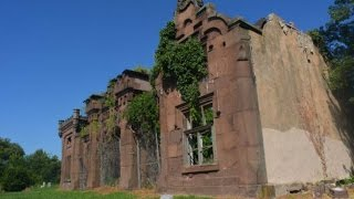 A look inside this very large abandoned cemetery