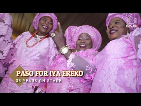Iya Ereko 35 Years On Stage | Pasuma, Small doctors and top Yorubahood Stars celebrate Iya Ereko @35