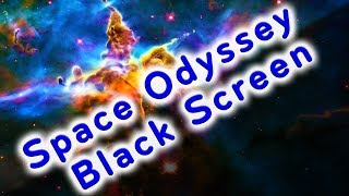 Space Odyssey White Noise (Dark Screen for Sleeping) | Sleep Sound 10 Hours