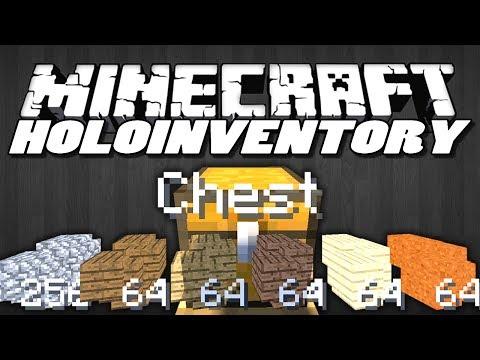 Minecraft Mods   HOLOINVENTORY MOD (Holographic HUD)   Minecraft (Mod Showcase)