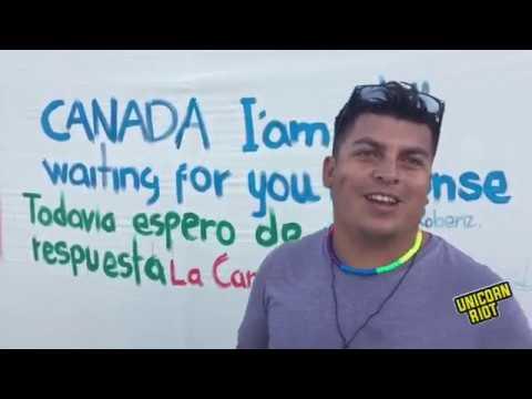 [LIVE] Update From El Barretal Caravan Shelter in Tijuana Mexico [12/8/18]