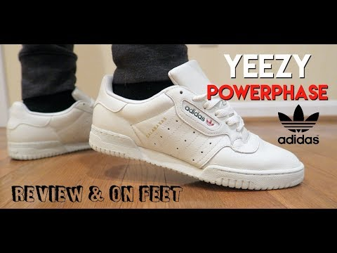 (BEST OLD MAN SNEAKERS) YEEZY POWERPHASE CALABASAS REVIEW & ON FEET