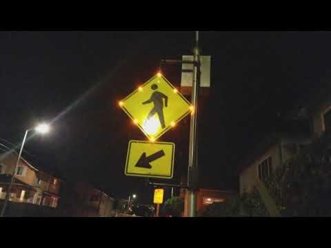 Beacon Lights for Deadly Venice Crosswalk  in memory of  Damon Shear RIP