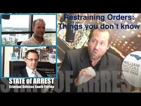 Things you don't know about Restraining Orders