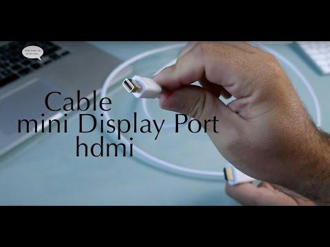 Cable Thunderbolt a HDMI para conectar Mac a pantalla externa, Tv o monitor de Ugreen