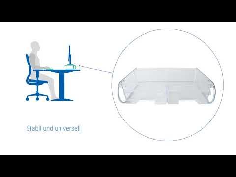 R-Go Steel XL Monitorständer & Druckerständer RGOSC042