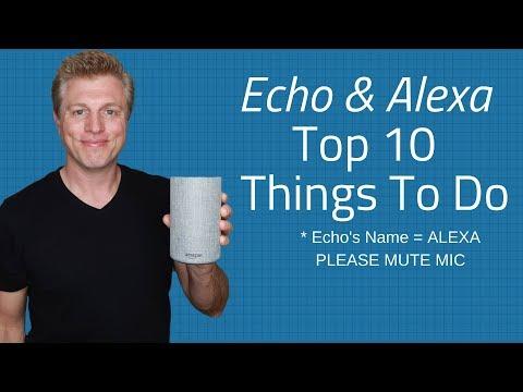 Amazon Echo & Alexa 10 Everyday Uses