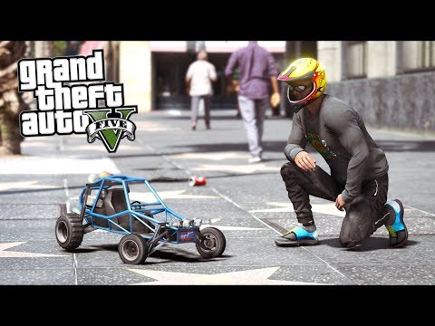 GTA 5 Mods - Cops HATE Remote Controlled Cars!! (Evade Gameplay)