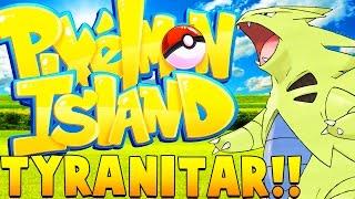 ULTIMATE TYRANITAR - Minecraft Pixelmon Island - Pokemon Mod