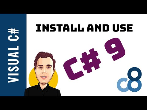 Install and Use C# 9 in Visual Studio 2019