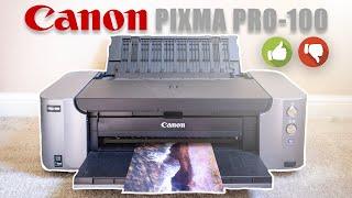 Pros & Cons: Canon PIXMA PRO-100 - The Best Photo Printer?