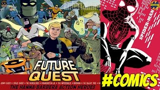 DC's Future Quest, Rebirth, and Marvel's Spider-Man #1 | Comics News & Reviews | That Hashtag Show