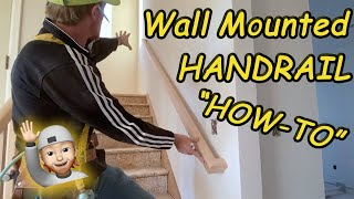 How to Install Wall Mounted Handrail: 3 CODE Requirements explained!