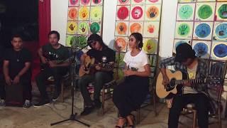 Takut Kehilangan - Rocktober Feat Tika Pagraky Live Perform At Shankara Resto Sanur , O2.12.2o17