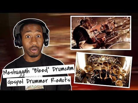 Gospel Drummer REACTS to MESHUGGAH - Bleed Live (Tomas Haake)