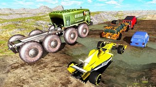 Car Racing Battle #3 - Who is better? - Beamng drive