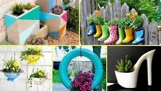 🌻50 + Creative Garden Flower Pot Ideas 2017 - Creative DIY Flower Pot🌻