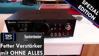 Geilster Auna Verstärker test 1200 Watt Boxen. Vergleich Soundcheck 40K Abo Spezial #Kernschrott