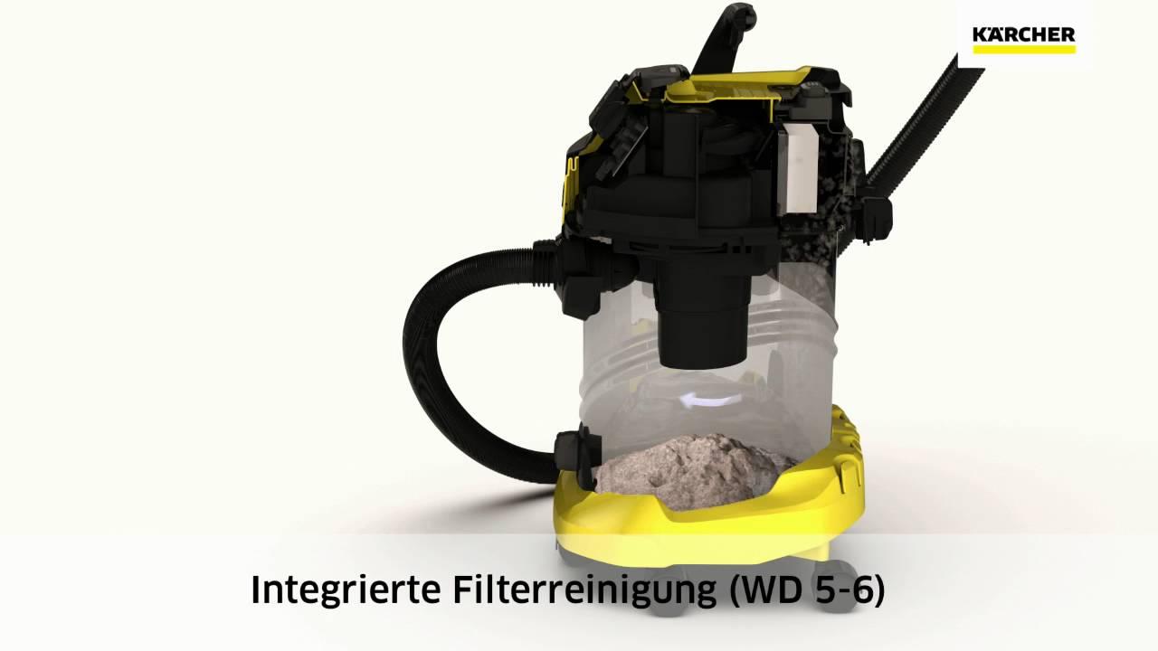 Хозяйственный пылесос Kärcher WD 6 P Premium (96113210) video preview