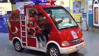 Кидбург пожарная машина. Команда МЧС. Kidburg Fire machine.