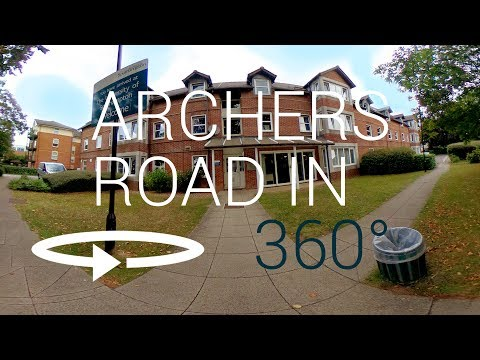 Archers Road 360° VR Tour | University of Southampton