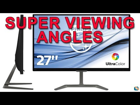 Philips E-Line 276E7QDAB 27 inch Monitor Review