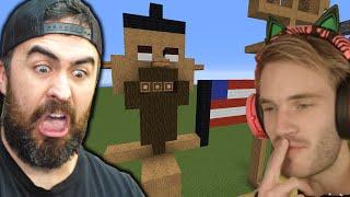 I Challenge Pewdiepie To A Minecraft Build Battle