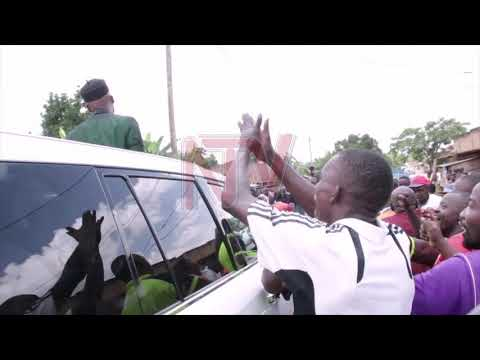 Dr Hamza excites Nabbingo in-laws