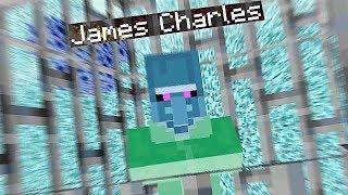 I Found James Charles In Minecraft Parkour