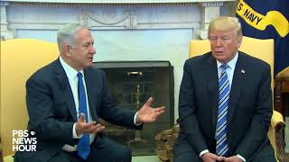 WATCH: President Trump Meets Israeli Prime Minister Netanyahu At White House