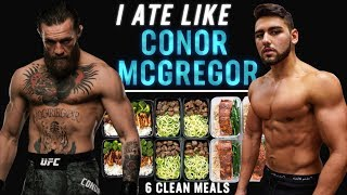 I Ate Like Conor McGregor At 170 Pounds For A Day