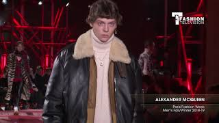 ALEXANDER MCQUEEN Paris Fashion Week Men's Fall/Winter 2018-19