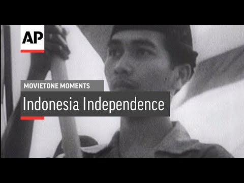 Indonesian Independence - 1945 | Movietone Moments | 17 Aug 18