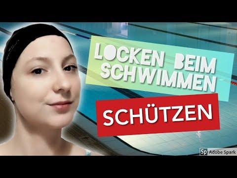 Locken Schützen: Schwimmen in Chlorwasser (Curly Girl Methode)
