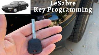 How To A Program Buick LeSabre Key 2000 - 2005 DIY Transponder Chip Ignition - All Keys Lost