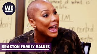 Evelyn Lets Loose on Tamar | Braxton Family Values | WE tv