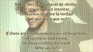 [Spanish-English Lyrics] David Bisbal - Diez Mil Maneras (Letra)