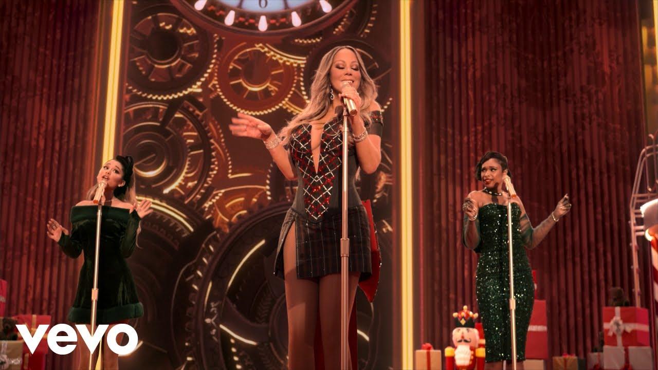 Mariah Carey ft. Ariana Grande, Jennifer Hudson — Oh Santa!